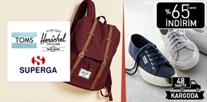 Herschel Supply Co. & Toms & Superga