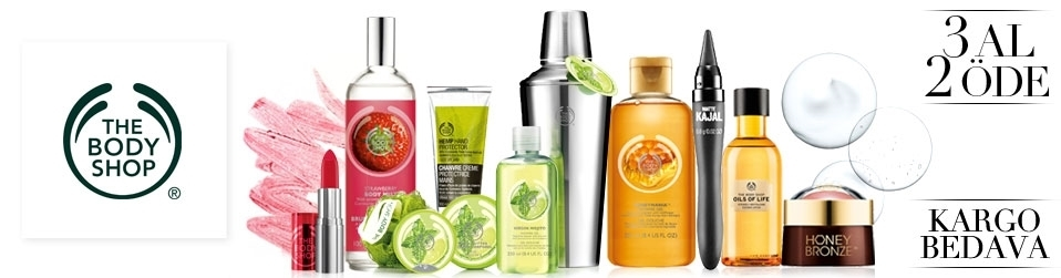 The Body Shop · 3 Al 2 Öde