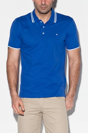 Cacharel,Cacharel Polo Yaka T-shirt,Cacharel Polo Yaka T-shirt G051CS011.S04.PAY330