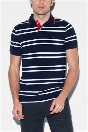 Cacharel,Cacharel Polo Yaka T-shirt,Cacharel Polo Yaka T-shirt G051CS011.S12.PAY203