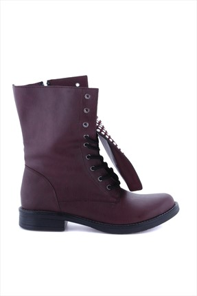 Shoes Time,Shoes Time Bot,Shoes Time Bordo Bot 454224