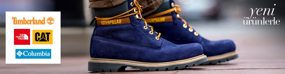 Columbia - Timberland - Cat - The North Face