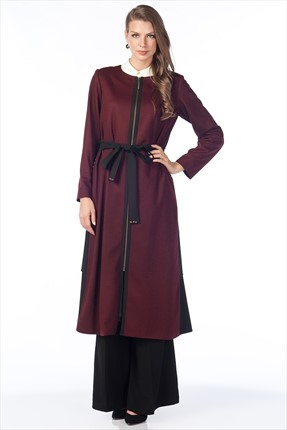 Kayra Bordo Trenchcoat