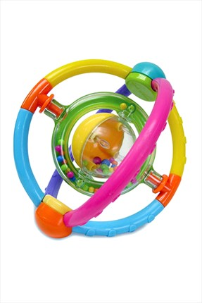 Blue Box Orbit Rattle 073669