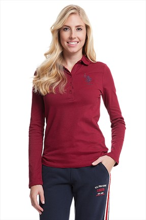 Us Polo Sweatshirt Bayan