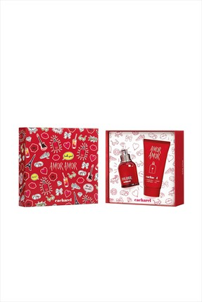 Cacharel,Cacharel Parfüm Seti,Cacharel Amor Amor Bayan Edt 30 mL + Body Lotion 50 mL
