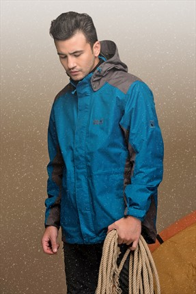 Jack Wolfskin,Jack Wolfskin Mont,Jack Wolfskin Erkek Amply Texapore Jkt M Mont