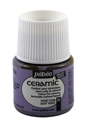 Seramik Boyası 36 Light Violet 45ml 7488