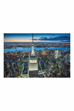 Maxi Poster Jason Hawkes Empire State Building At Night 5050574339094