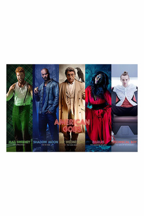 Maxi Poster American Gods Collage 5050574341530