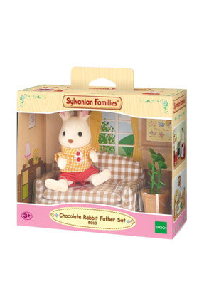 Sylvanian Rabbit Father Set Esf5013 -6 / SYL5013