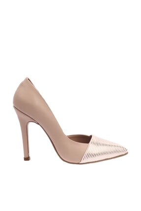 Ten Rengi Kadın Topuklu Ayakkabı 204-604-1147