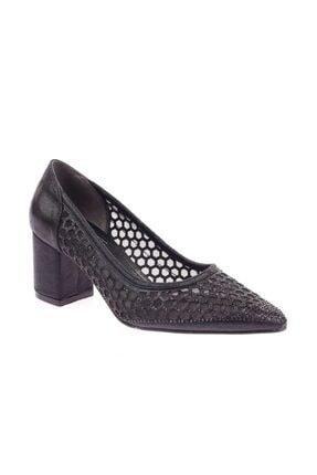 Siyah Kadın Topuklu Ayakkabı 266-1510