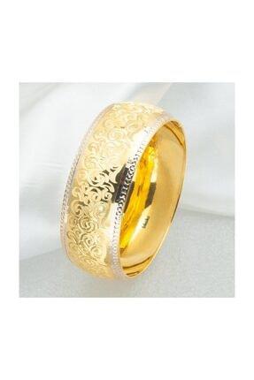 2,5 cm. Enli 14 Ayar Altın Bilezik 20 gr BLZ1486