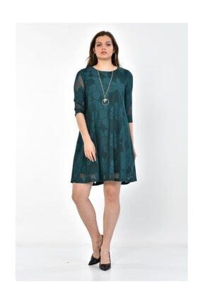 Kadın Zümrüt Yeşil Abiye Elbise ELB.ABY-1636-ZMRTYSL-ZY1636