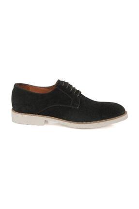 Hakiki Deri Siyah-Süet Erkek Klasik Ayakkabı E19I1AY54158