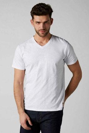 Erkek Beyaz T-Shirt 4483679486004