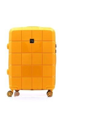 Hotowa Gold PP Valiz 8007 Orta Boy HTW8007O