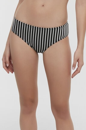 Kadın Siyah Sabrina Hipster Bikini Altı PLQVK8HJ20IY-BK5