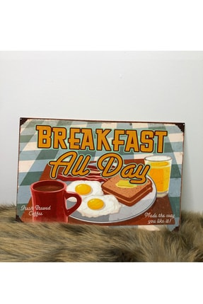 Breakfast Mdf Tablo 20x30 BRKFSTBL01