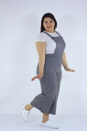 Kadın Büyük Beden  Giyim Salopet tr9001