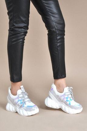 Kadın  Beyaz Sneaker VZN20-056Y 154202_Beyaz