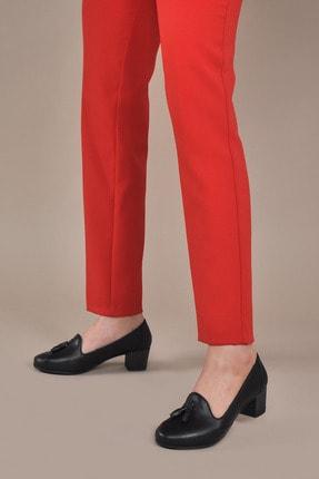 Kadın  Siyah Klasik Topuklu Ayakkabı VZN20-018Y 153461_Siyah