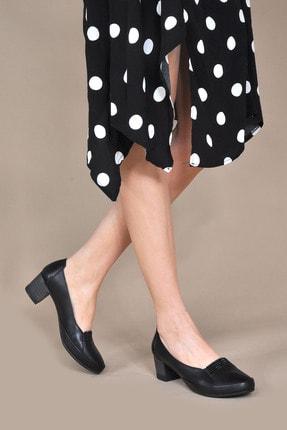 Kadın Siyah Klasik Topuklu Ayakkabı Vzn20-085y 154895_Siyah