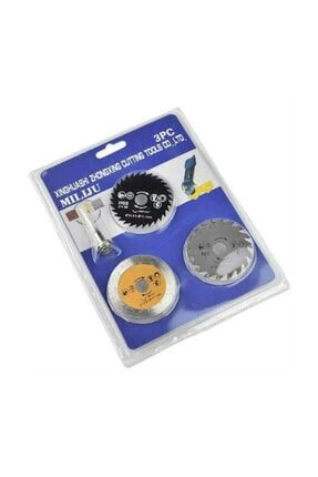 Miliju 4 Parça Ahşap-Metal-Mermer Kesme Testere Seti 3210128970186