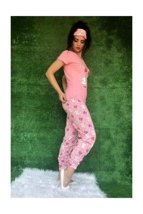 Baskılı Pijama Takımı 2556 Pijama Takımı Desenli M20200422133620