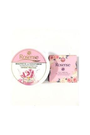 Rosense El Ve Vücut Bakım Kremi+gül Yaprkalı Bakım Sabunu arz17000532t