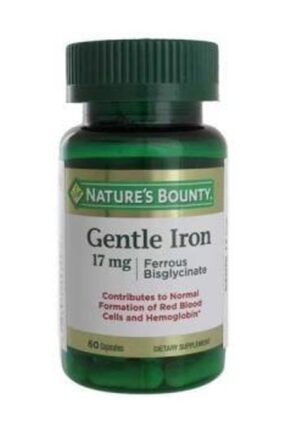 Gentle Iron 17 mg - 60 Kapsül 74312003097