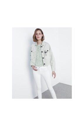 Kadın Pantolon Beyaz 18007
