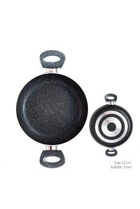 Tava Granit Çift Kulp 3mm 22cm PİERLOTTİ-012