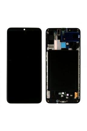 Samsung Galaxy A70 Servis Orj Çıtalı Siyah Lcd Ekran mtl0000000226