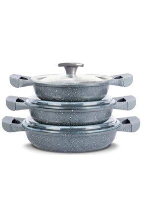 6 Parça Döküm Granit Sahan Seti HBV00000D385G
