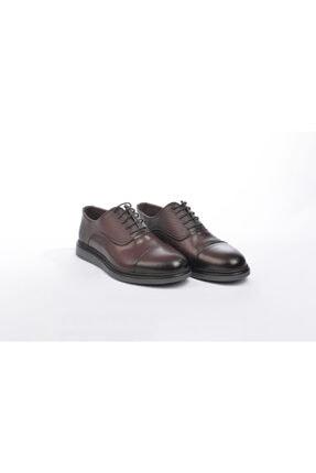 302 Censay Erkek Günlük Ayakkabı Kalın Taban Hafif Ayakkabı Hakiki Deri E19K.BOT014