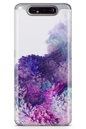 Samsung Galaxy A80 Kılıf Galaxy Wall Arka Kapak Koruma Desenli Full Koruyucu mfoni_528751