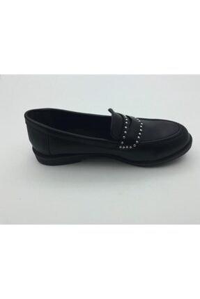 Kadın Siyah Okul Ayakkabısı LNDRES021