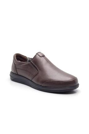 Isber 805-k Içi Kürklü Hakiki Deri Erkek Ayakkabı Kahve İSBER 805-K KAHVE