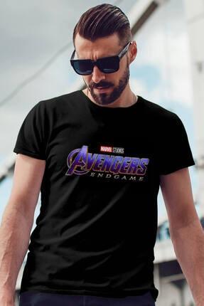 Erkek Siyah Tshirt  Avengers 819865