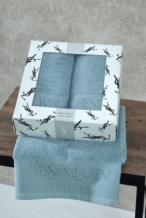 Yves Saint Laurent 50x100 2'li Havlu Seti yvestowel