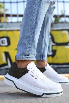 Ch075 Ipekyol Beyaz Taban Erkek Ayakkabı CH075 İpekyol