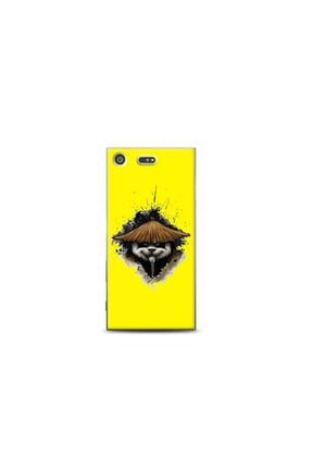 Sony Xperia Xz Premium Panda Sarı Koleksiyon Telefon Kılıfı Y-srklf084 kilifmadeni170783