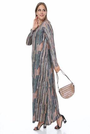 Büyük Beden Likralı Kadın Giyim P342088