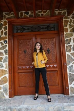 Kadın Sarı Eşofman Takımı brcst2011