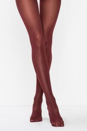 Kadın Bordo Micro 70 Den Külotlu Çorap PCLPP10K15SK PCLPP10K15SK-500