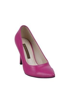 132 Kadın Klasik Ayakkabı Fusya