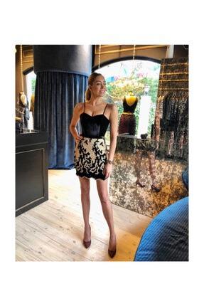 Kadife Mini Elbise PL202032