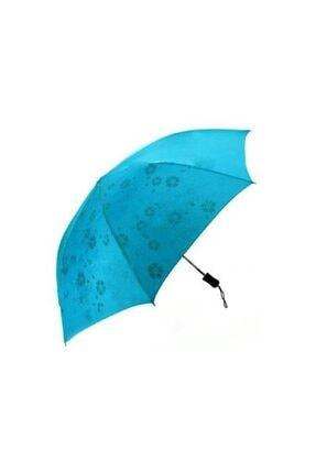 Sihirli Şemsiye Ponçi Kumaş Islanınca Çiçek Açan Şemsiye ŞEMSİYE